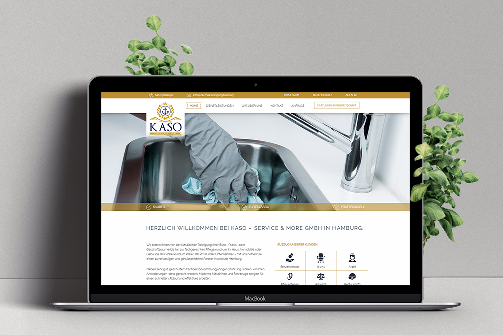 Kaso Service & More GmbH Website